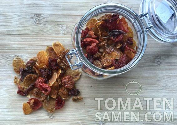 Rezeot für leckere Tomatenchips